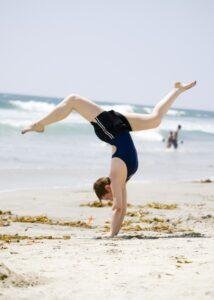 Beach Handstand 2008