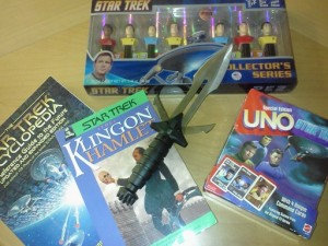 A snippet of my Star Trek collection