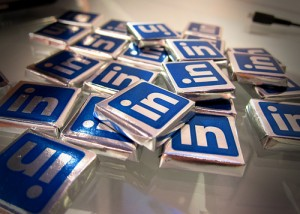 LinkedIn Chocolates by Nan Palmero from Flickr (Creative Commons License)