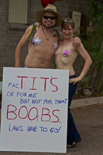 International Go Topless Day by Sheila Dee from Flickr (used with permission)