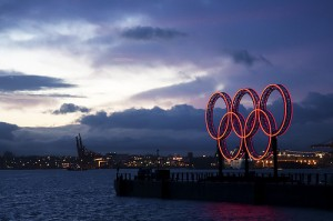 Olympic Rings Vancouver by adrian8_8 from Flickr (Creative Commons License)