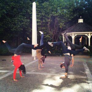 Post-Brunch Handstand - Photo by Erika Brown