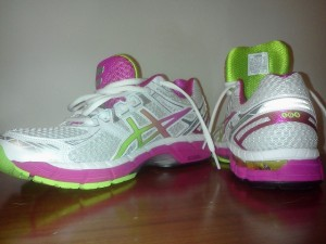 I love my running shoes.