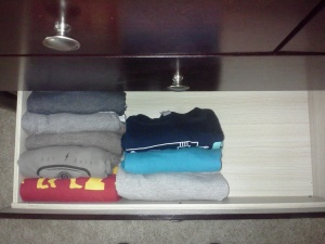 My T-shirt Drawer - October 26, 2014