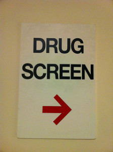 Pre–employment drug testing by Francis Storr from Flickr