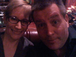 Hanging with Peter Shankman - Love this guy!
