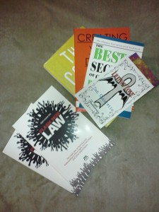 These are the Books that Started The Undeniable Tour with Me.