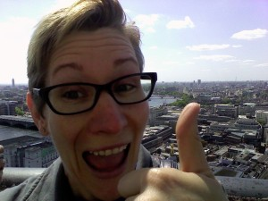 London from the top of St. Paul's Cathedral!