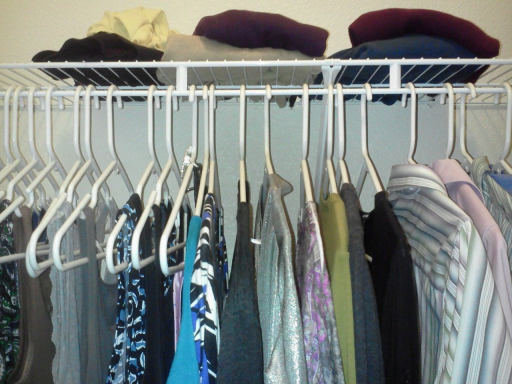 Part of my Closet - June 16, 2015