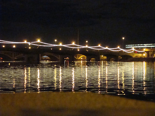 Tempe AZ - Tempe Town Lake 10th Birthday by Dean Ouellette from Flickr (Creative Commons License)
