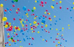 Atticus' Balloon Release
