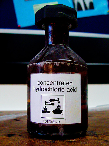 hydrochloric acid | The Undeniable Ruth