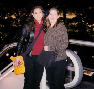 Lindsey & Ruth in Vegas - 2002