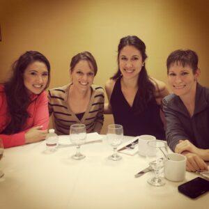 Gymnastics Family at Lindsey's Wedding - 2014