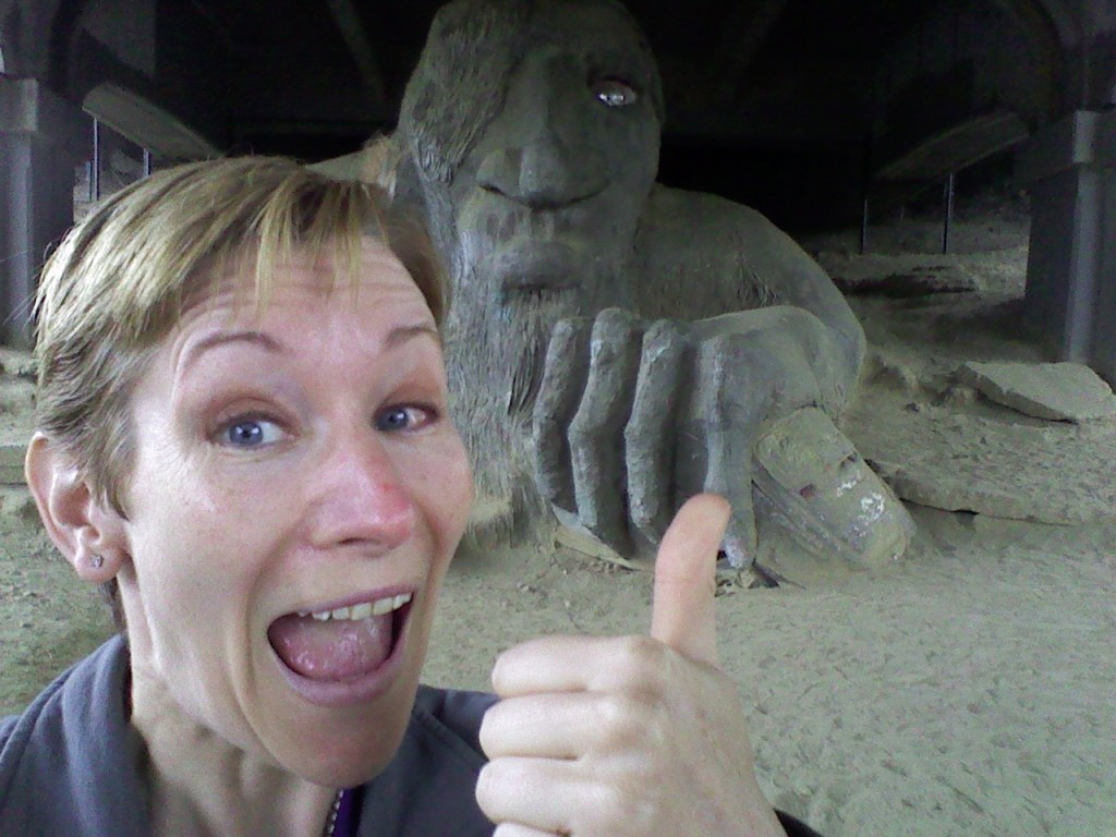 Visiting the Seattle Troll