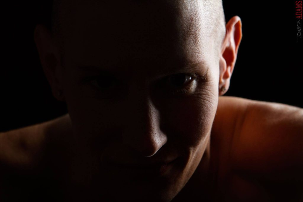 In case you missed it, I shaved my head. Photo by Devon Christopher Adams