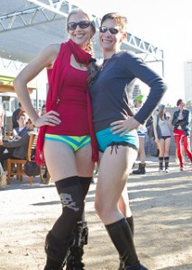 No Pants Ride 2013 - Photo by Joseph Abbruscatto from Flickr (used with permission)