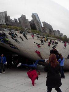 handstand bean