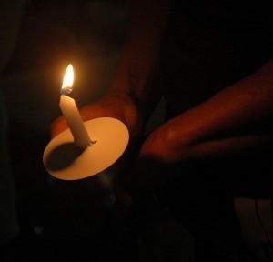 Candlelight Vigil by  KOMUnews from Flickr