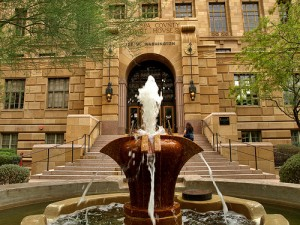 Maricopa County Court House by Ms. Phoenix from Flickr (Creative Common License)