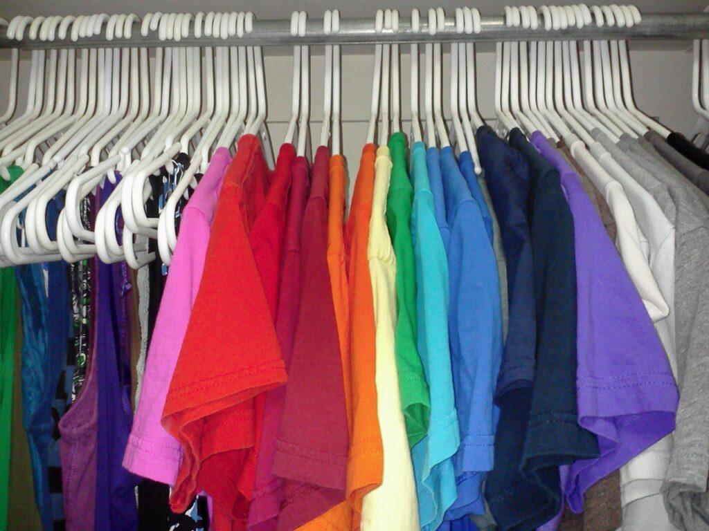 Part of my Closet on January 2, 2014