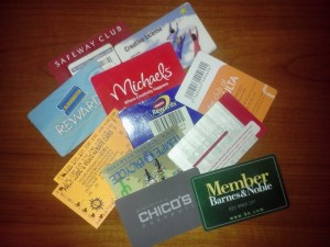 Various Club Cards I Don't Need