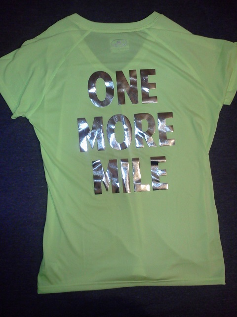 Race Day Shirt - One More Mile