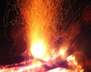 Fire Sparks by Kirrus from Flickr (Creative Commons License)