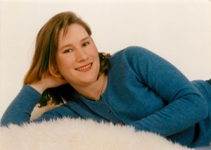 My College Senior Portrait - 2001