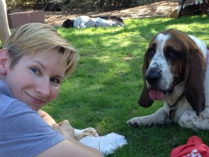 Rosie and I at the AZBHR Picnic 2014