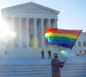 SCOTUS APRIL 2015 LGBTQ 54663 by Ted Eytan from Flickr (Creative Commons License)